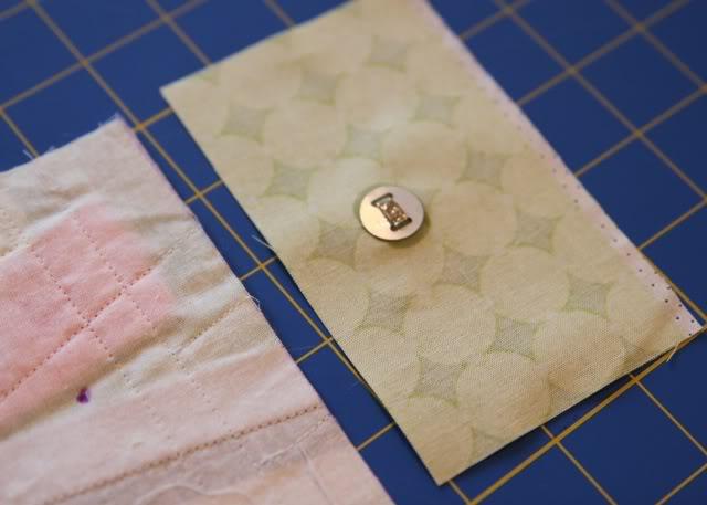 Scrap Ribbon Wallet/Clutch Tutorial step 9 via lilblueboo.com
