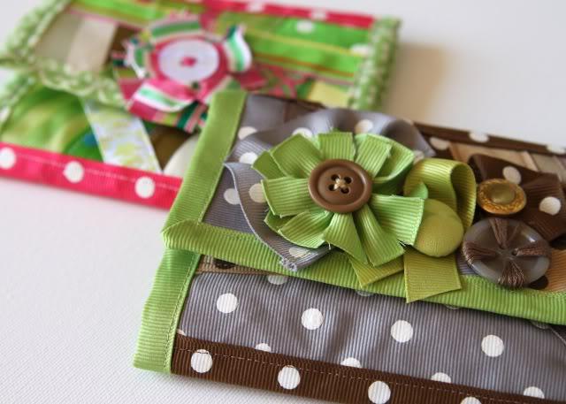 Scrap Ribbon Wallet/Clutch Tutorial 2 via lilblueboo.com