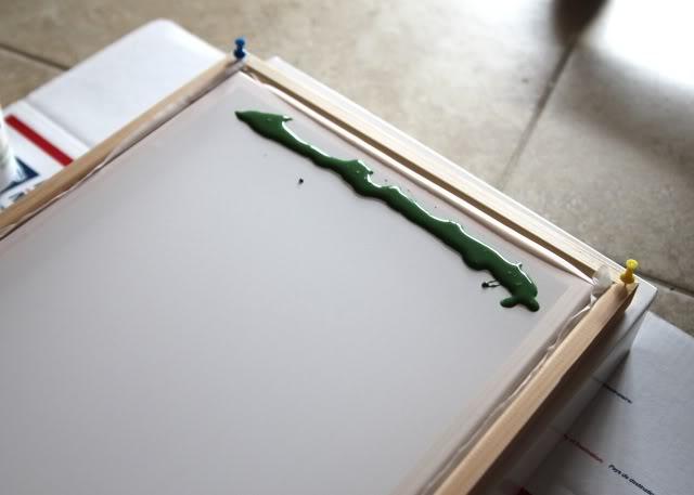 How to screen print 101 - emulsion -  via lilblueboo.com