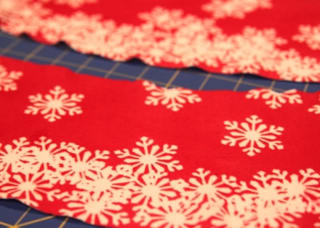 Snowdrift Dress - Tutorial step 6 via lilblueboo.com