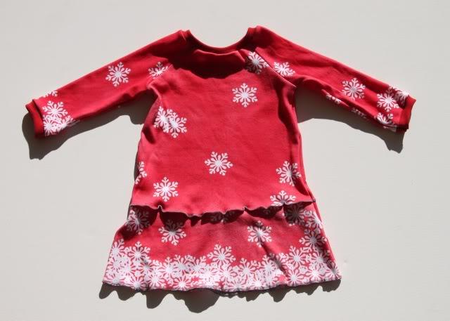 Snowdrift Dress - Tutorial 2 via lilblueboo.com