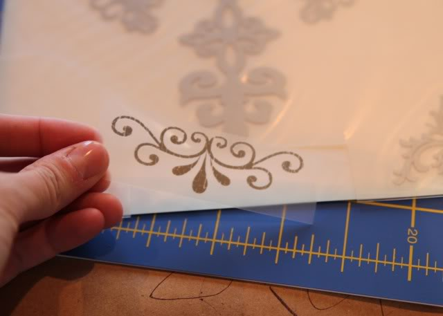 Snowglobe Shirt - Tutorial step 9 via lilblueboo.com