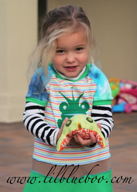 How To Prepare for The Princess and The Frog frog princess dress via lilblueboo.com