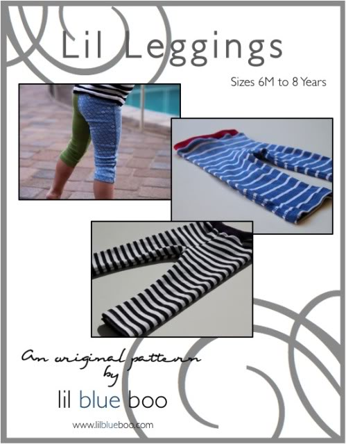 New Lil Leggings Pattern & Giveaway! (Updated For the SECOND time) via lilblueboo.com