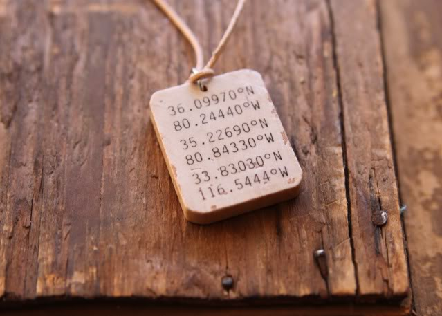 Wooden Pendant Necklaces (and Keychain) Tutorial 3 via lilblueboo.com