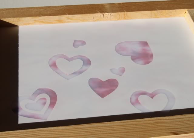 Screenprinting Techniques: Using Contact Paper (Tutorial) step 5 via lilblueboo.com