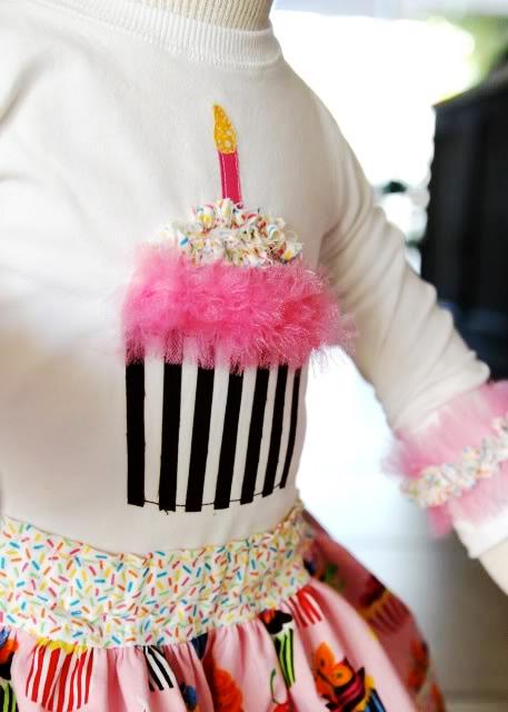cupcake applique tutorial 3 via lilblueboo.com