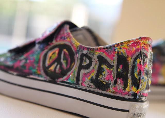 Graffiti Shoes A Tutorial