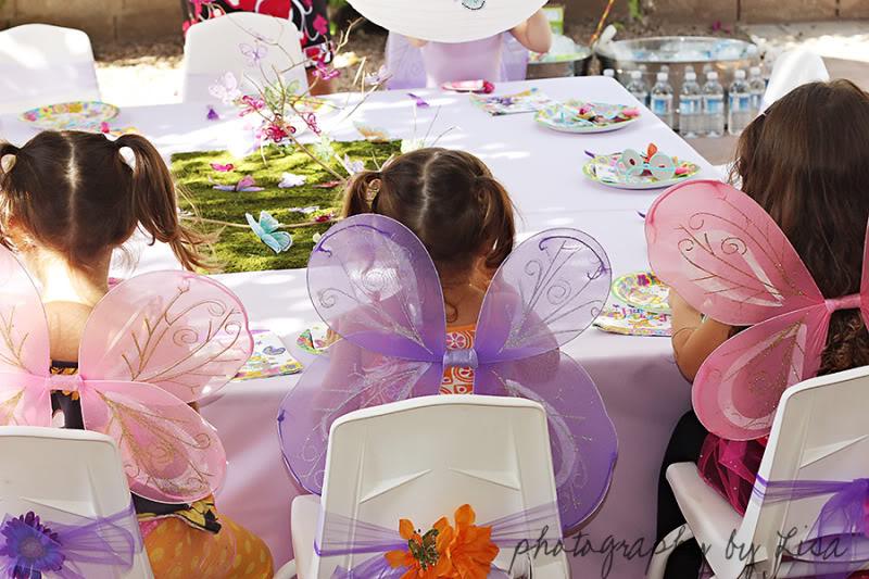 Butterfly Birthday Party Decor Ideas via lilblueboo.com