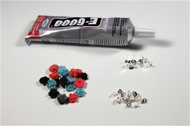 Cabochon Accessories DIY Tutorial Supplies via lilblueboo.com
