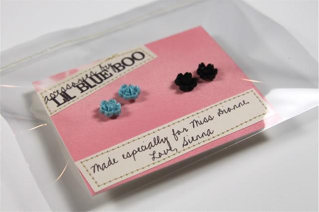 Earing Cabochon Accessories DIY Tutorial via lilblueboo.com