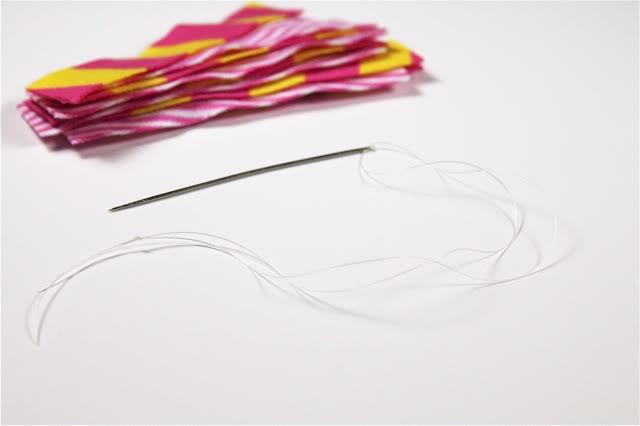 Upcycled Knit Pom Pom Hair Accessories (A Tutorial) via lilblueboo.com