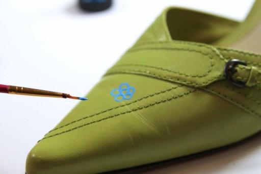 Doodle Shoe Update Tutorial DIY via lilblueboo.com