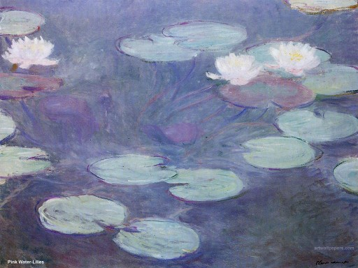 How To Paint Monet Style Water Lilies