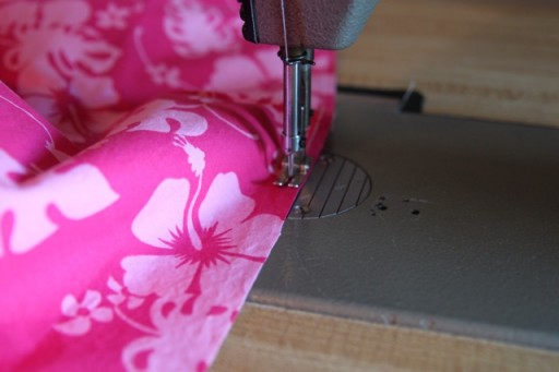Super Simple Summer Dress using a tank top. DIY tutorial via lilblueboo.com