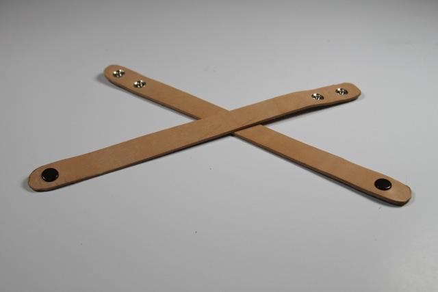 Great git idea for Dad: Carved leather bracelets tutorial diy via lilblueboo.com