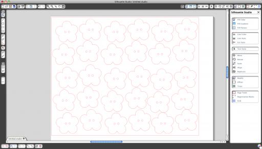 silhouette machine templates