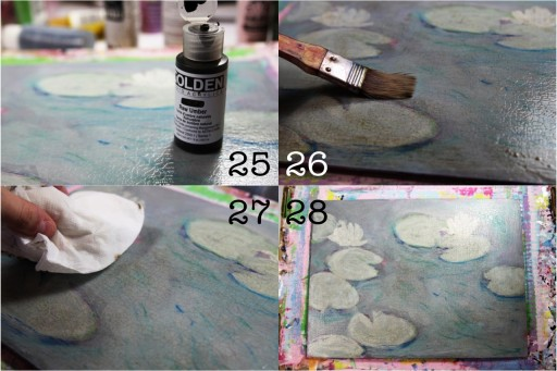 Applying Glaze and Crackle Finish via lilblueboo.com