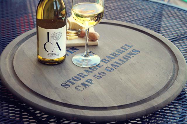 Make a lazy susan look like a vintage wine barrel, DIY Tutorial via lilblueboo.com