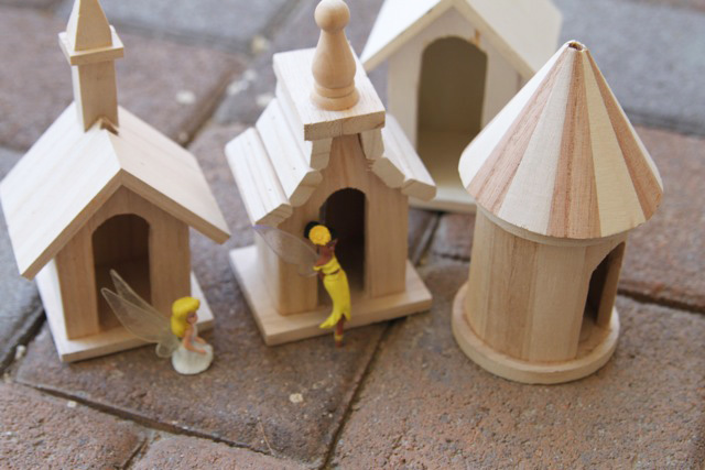 A Mini Birdhouse Fairy Village A Tutorial