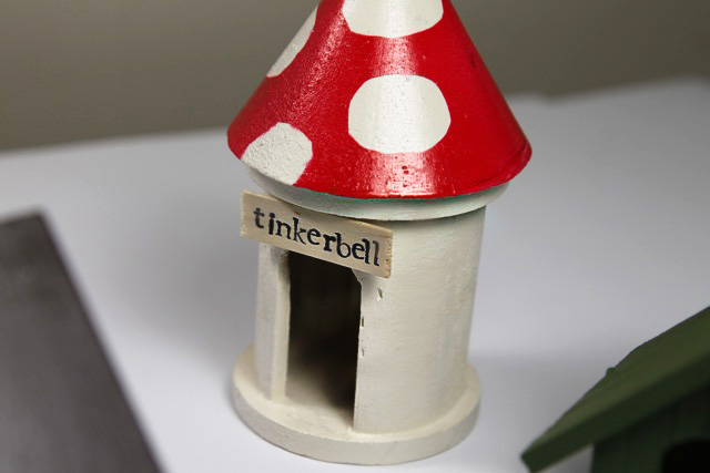 How to make a mini Fairy Garden Village (A Tutorial) via lilblueboo.com
