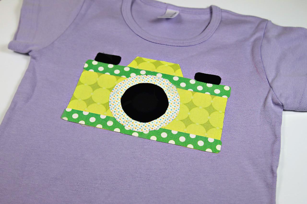 Vintage Camera Applique Download pre-sewing via lilblueboo.com