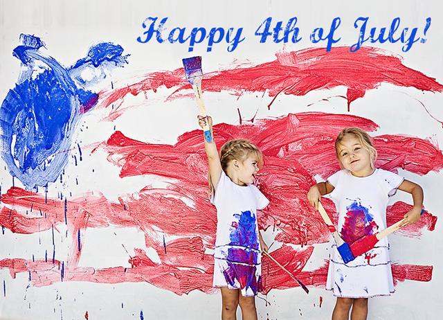 Happy 4th of July via lilblueboo.com