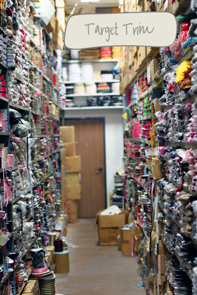 Best places to shop for fabric and trim in LA's Fabric District via lilblueboo.com