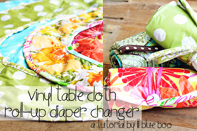 How to make a diaper changer (plus free pattern downloade) via lilblueboo.com