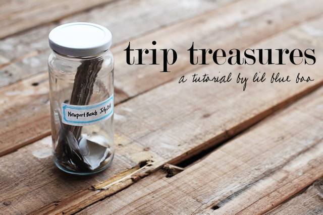 Display Your Trip Mementos via lilblueboo.com