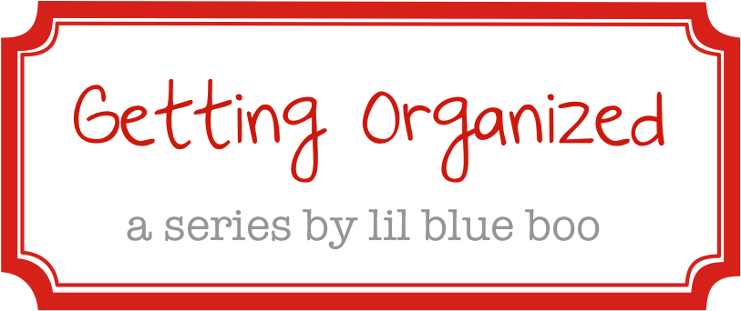 Getting organized with lilblueboo.com