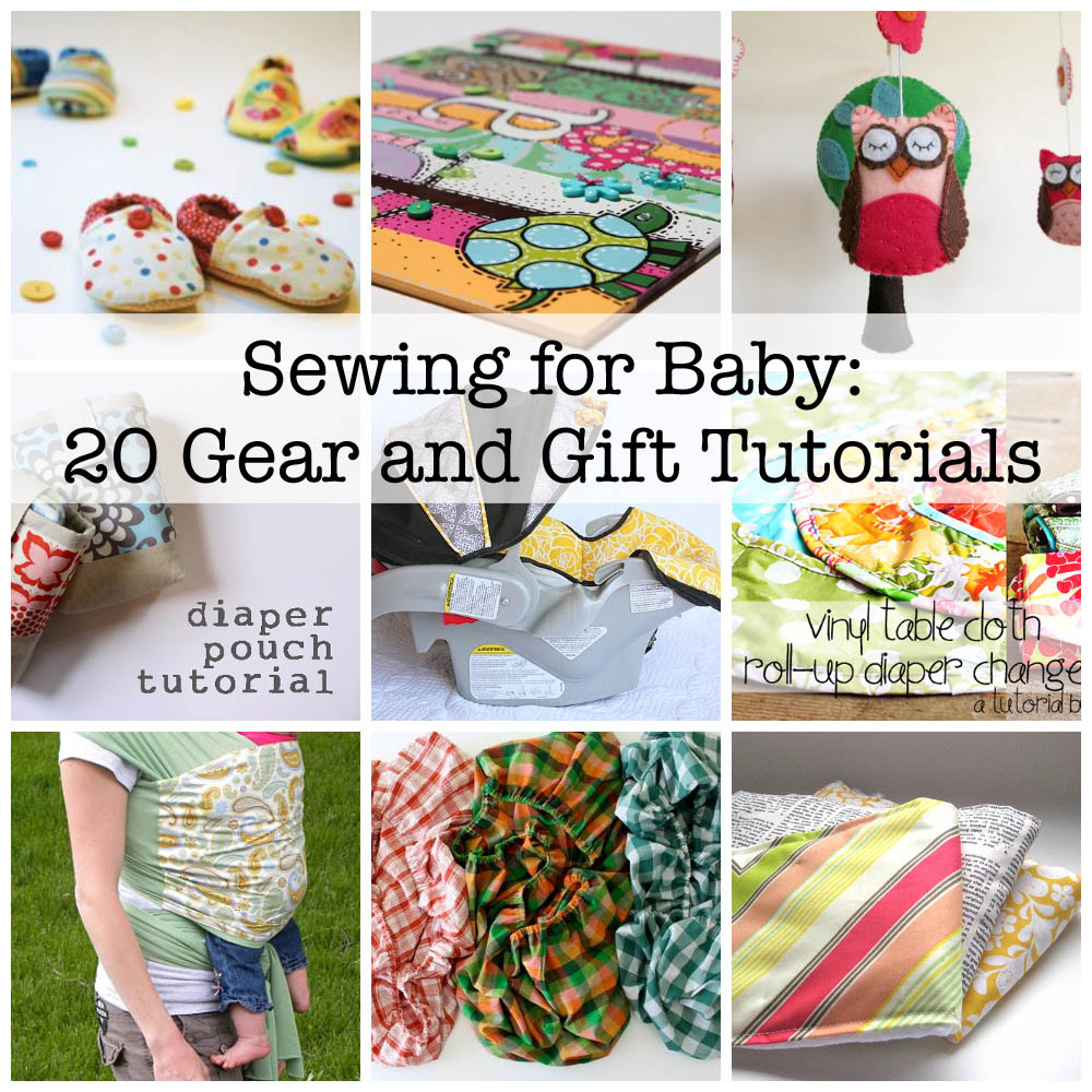 Sewing for Baby Tutorials and Ideas via lilblueboo.com