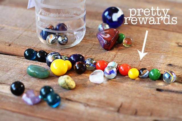 The Good Job (Marble Rewards) Jar via lilblueboo.com