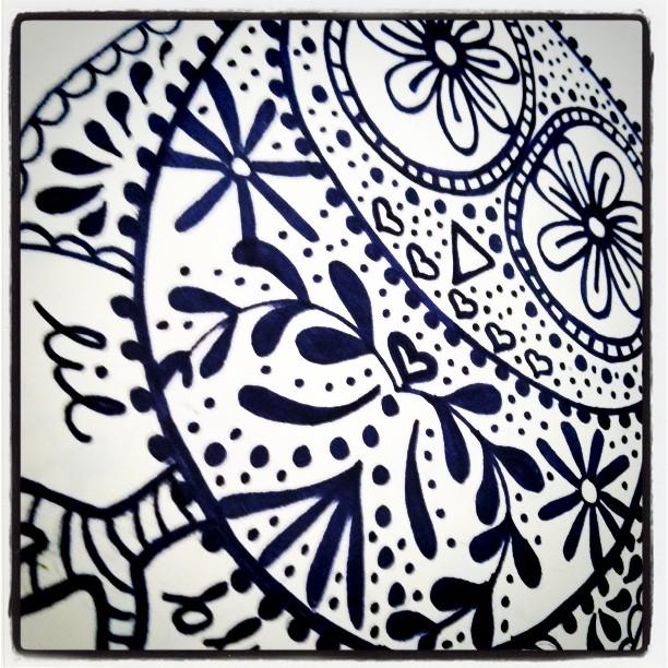 Frida the Owl Print via lilblueboo.com