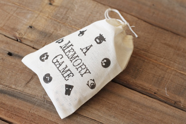 A Matching Game (how to make the bag)  via lilblueboo.com