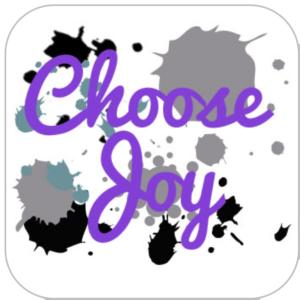 Today I Choose Joy via lilblueboo.com #choosejoy