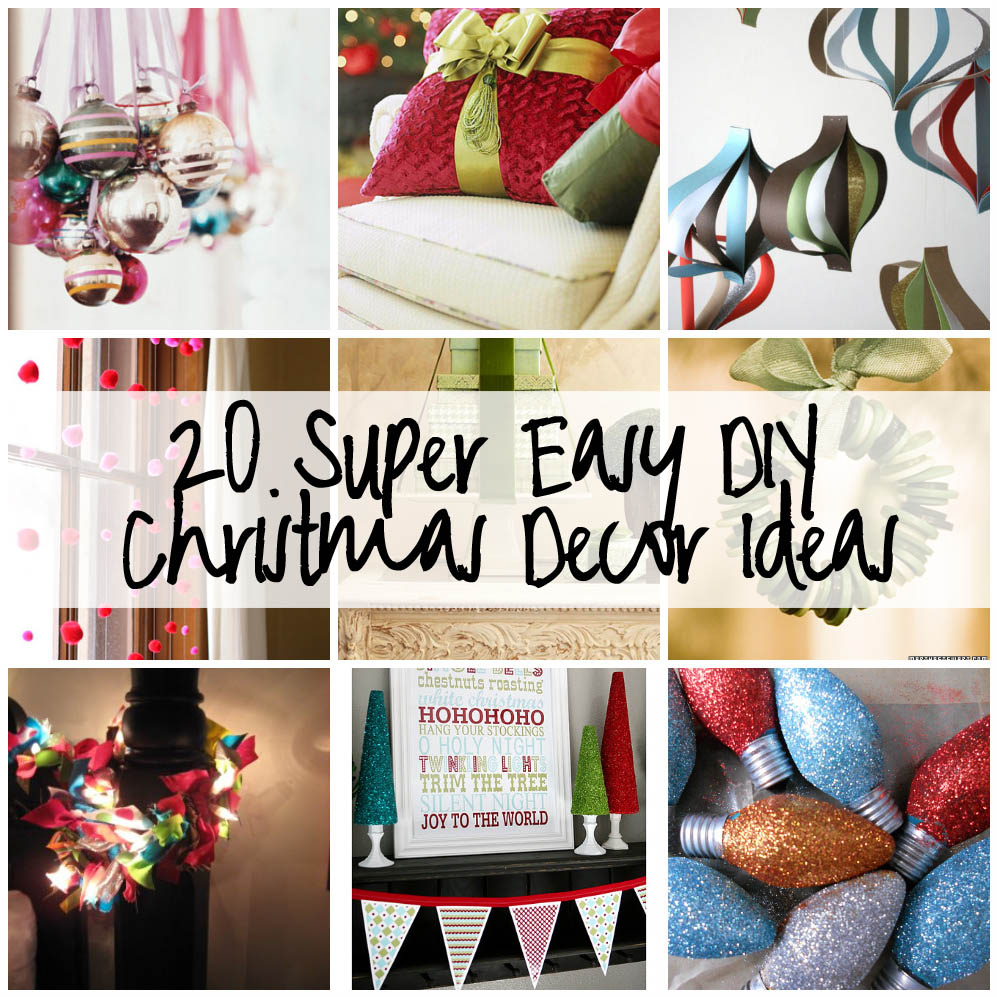 easy diy christmas decorations ideas photo2