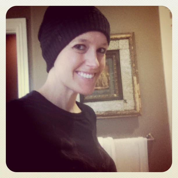 Cancer Chronicles - Cancer Hair - This is only a test - Ashley Hackshaw