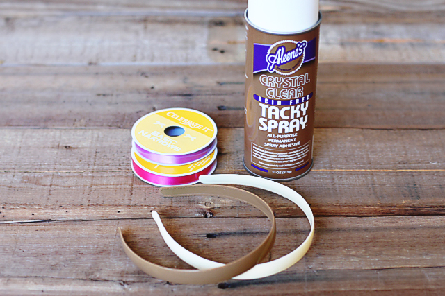 How To Make Ribbon Woven Headbands