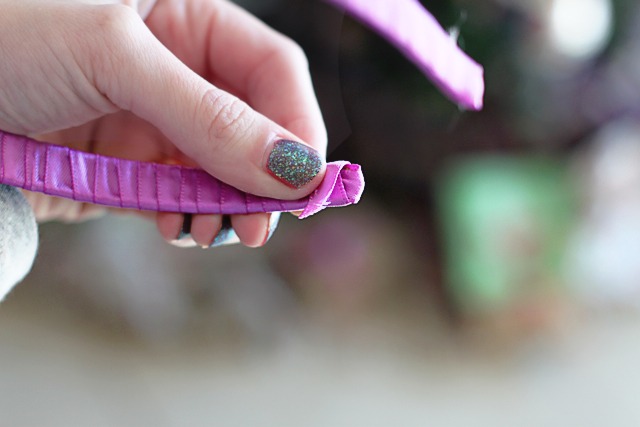 how to make headbands with bows