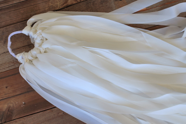 Ready to Dye Silk Ribbon via lilblueboo.com