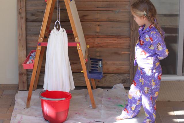 How to Dye Ombre via lilblueboo.com