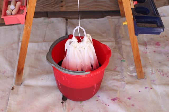 Ombre Dyed via lilblueboo.com