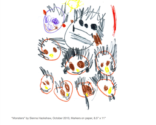 how to save kids artwork