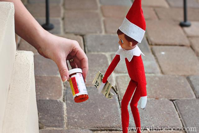The Elf On The Shelf Goes Naughty
