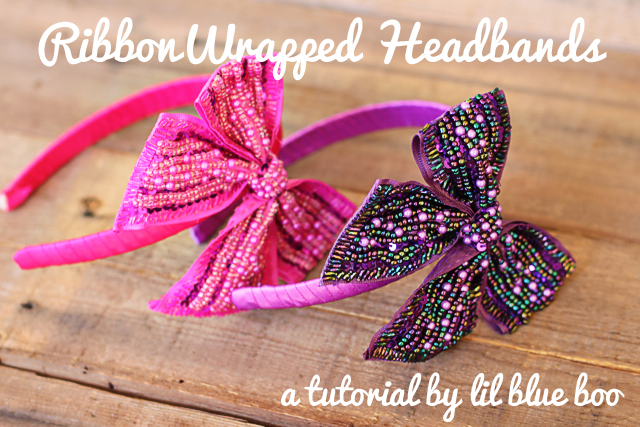 How to Make Ribbon Headbands - Tutorial