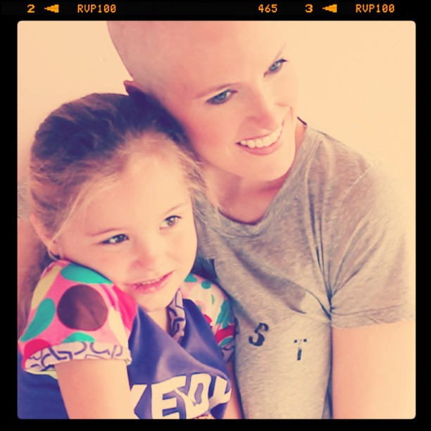 Losing my hair - cancer blog - rite of passage