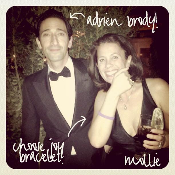 Adrien Brody Choose Joy Bracelet