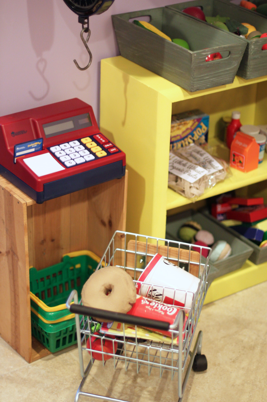 Project Playroom Storage Ideas via lilblueboo.com