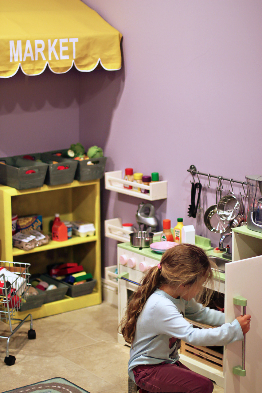 Project Playroom Storage Ideas via lilblueboo.com